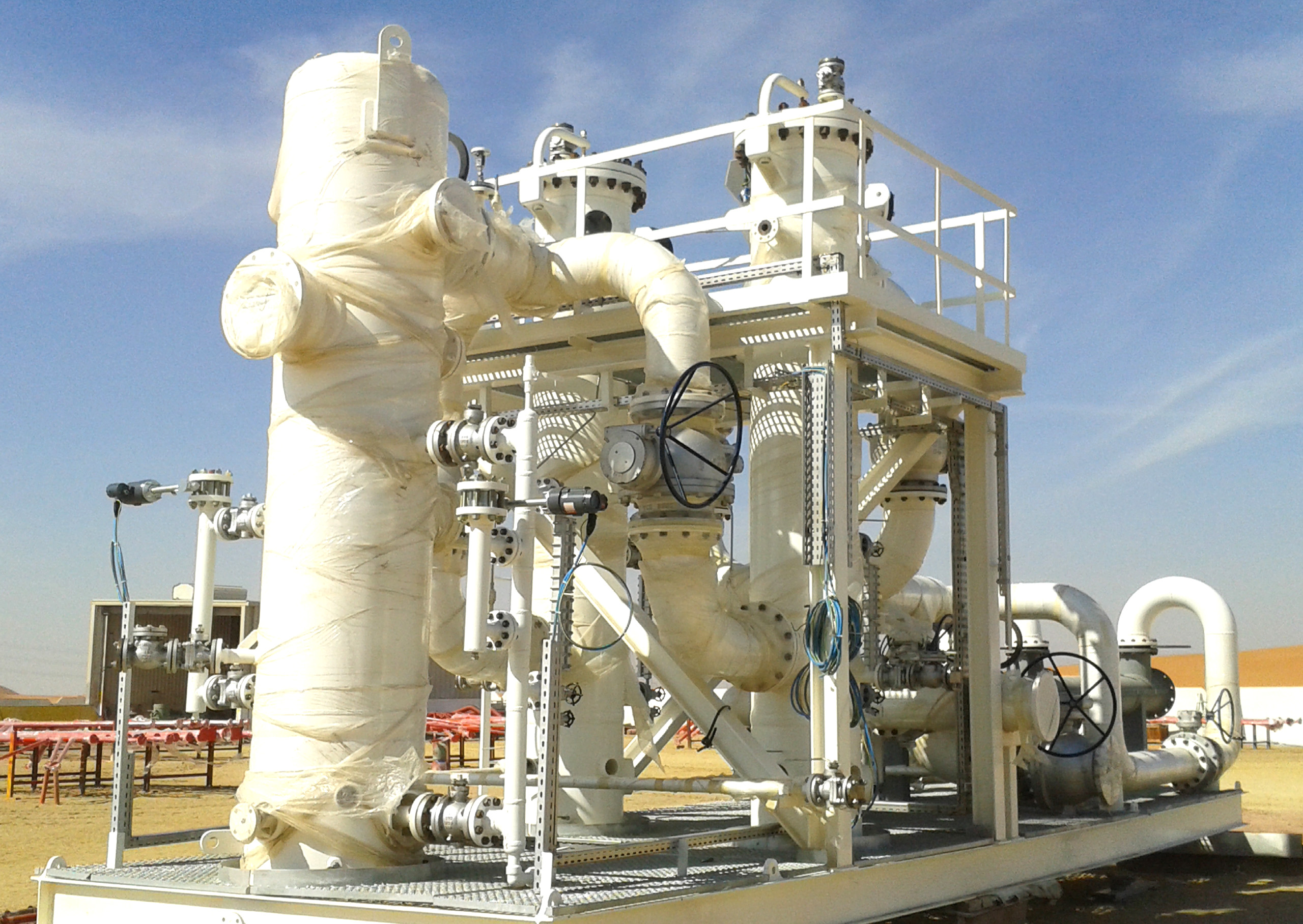 Techno Futura | Oil and Gas Processing Skids